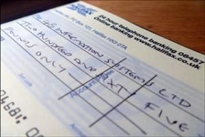 A quel ordre adresser le chèque de sa carte grise